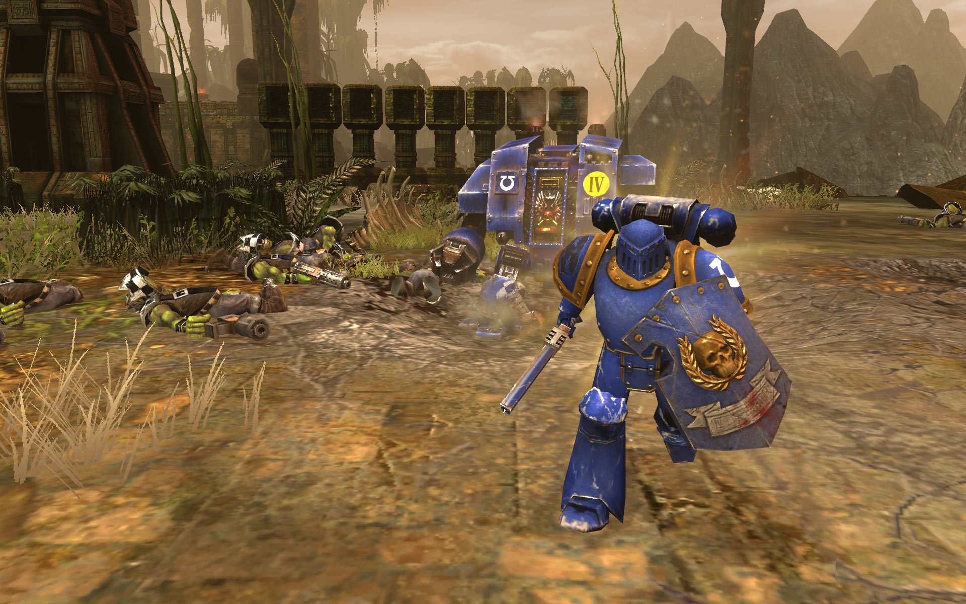 Warhammer 40,000: Dawn of War II: Retribution - Captain Wargear DLC screenshot