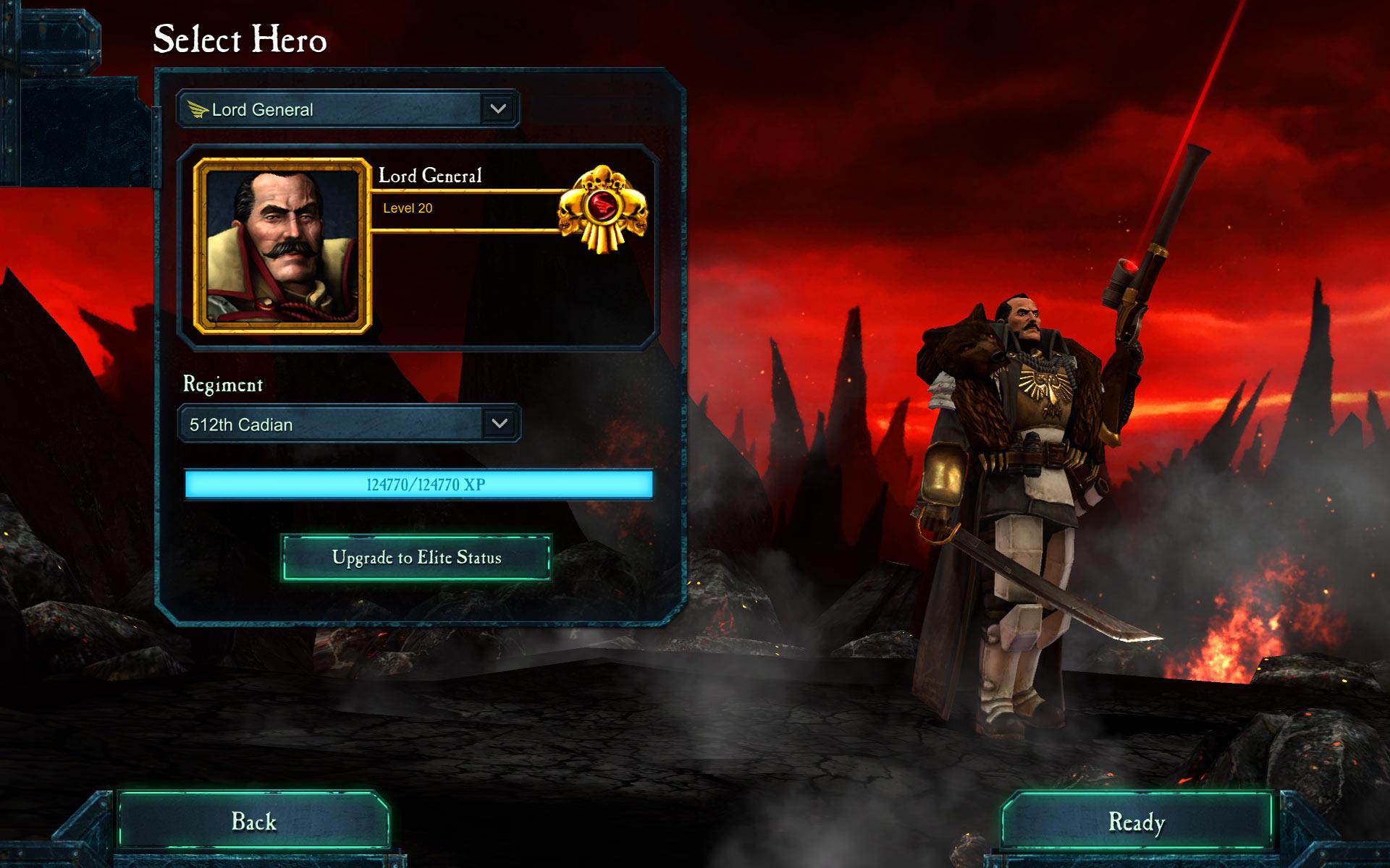 Warhammer 40,000: Dawn of War II - Retribution - Lord General Wargear DLC screenshot