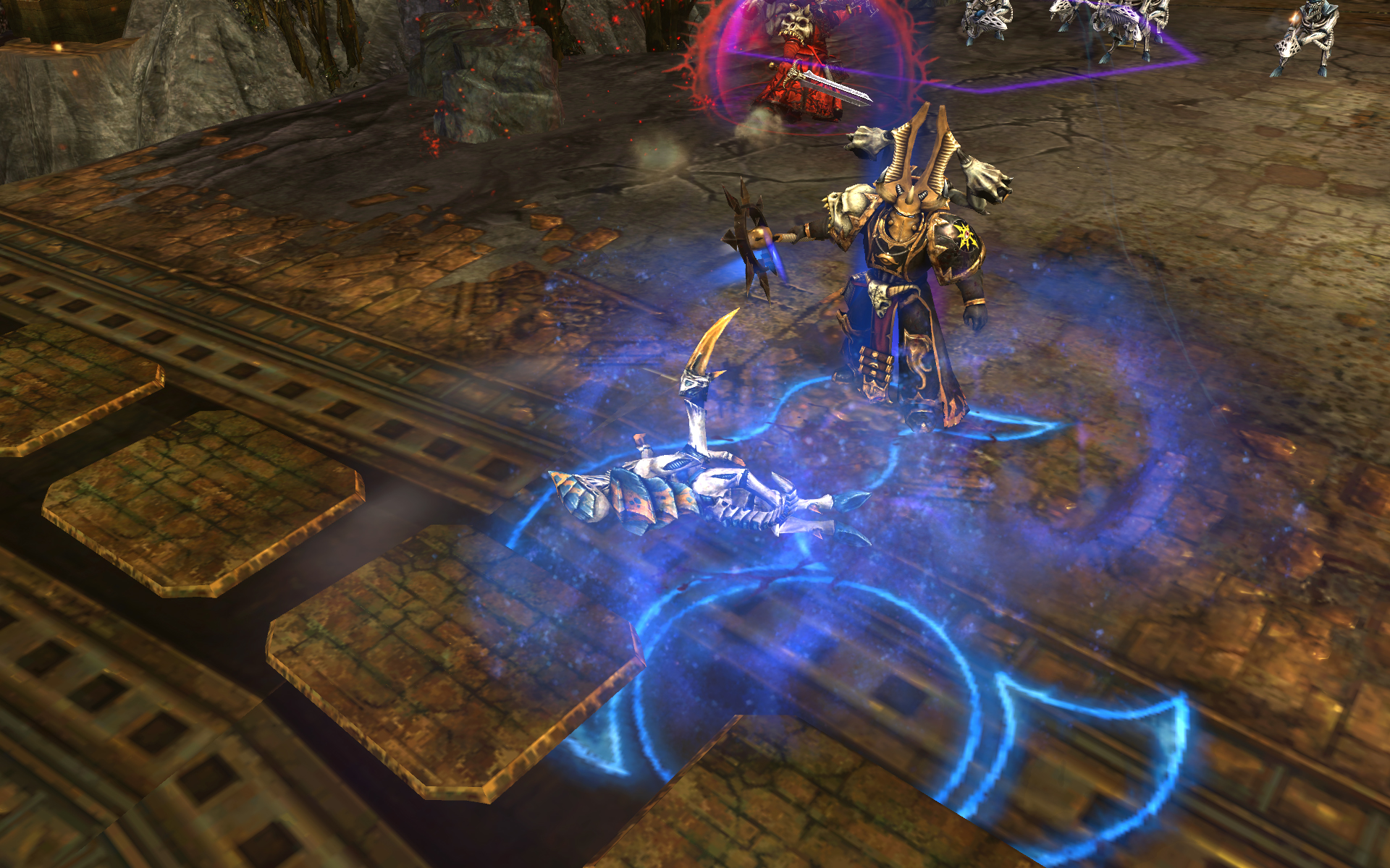 Warhammer 40,000: Dawn of War II - Retribution - Chaos Sorcerer Wargear DLC screenshot