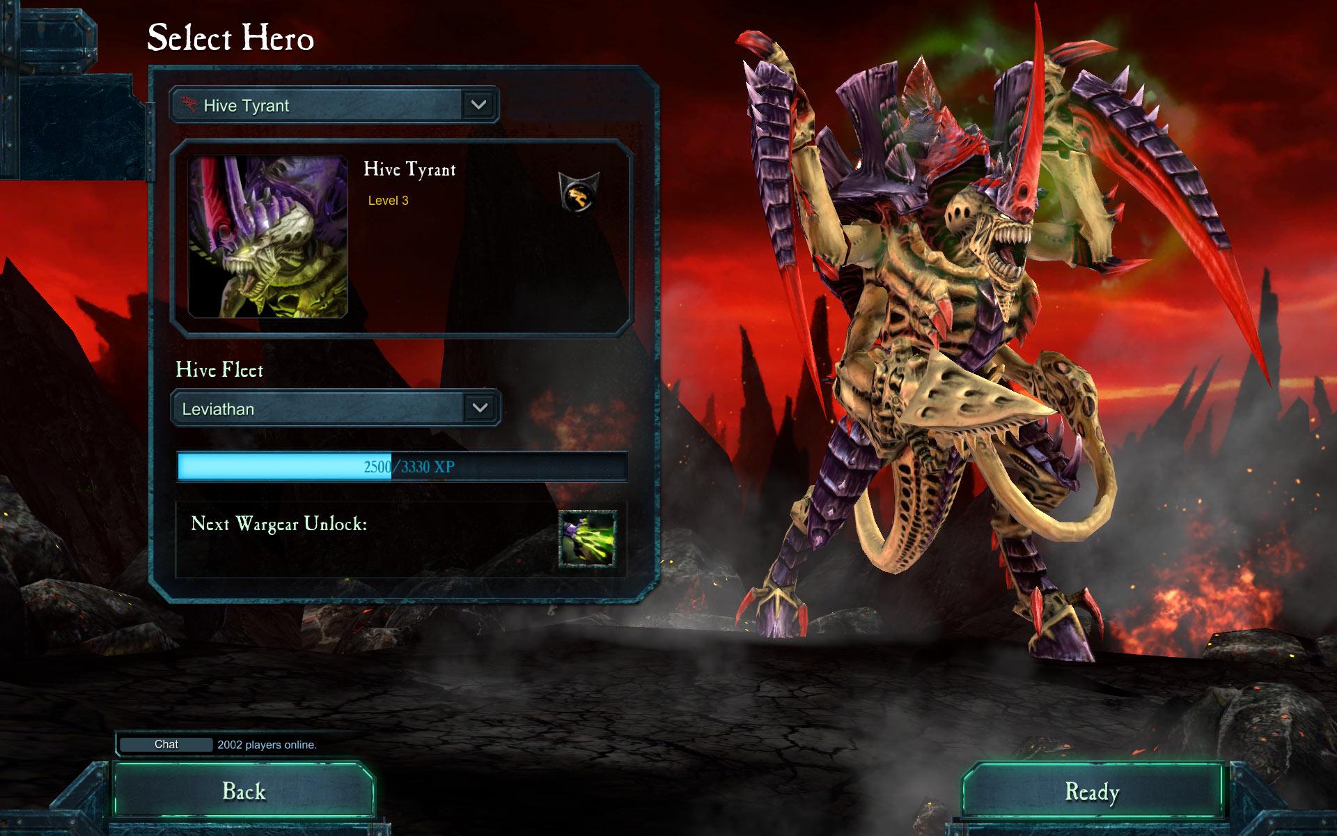 Warhammer 40,000: Dawn of War II - Retribution - Hive Tyrant Wargear DLC screenshot