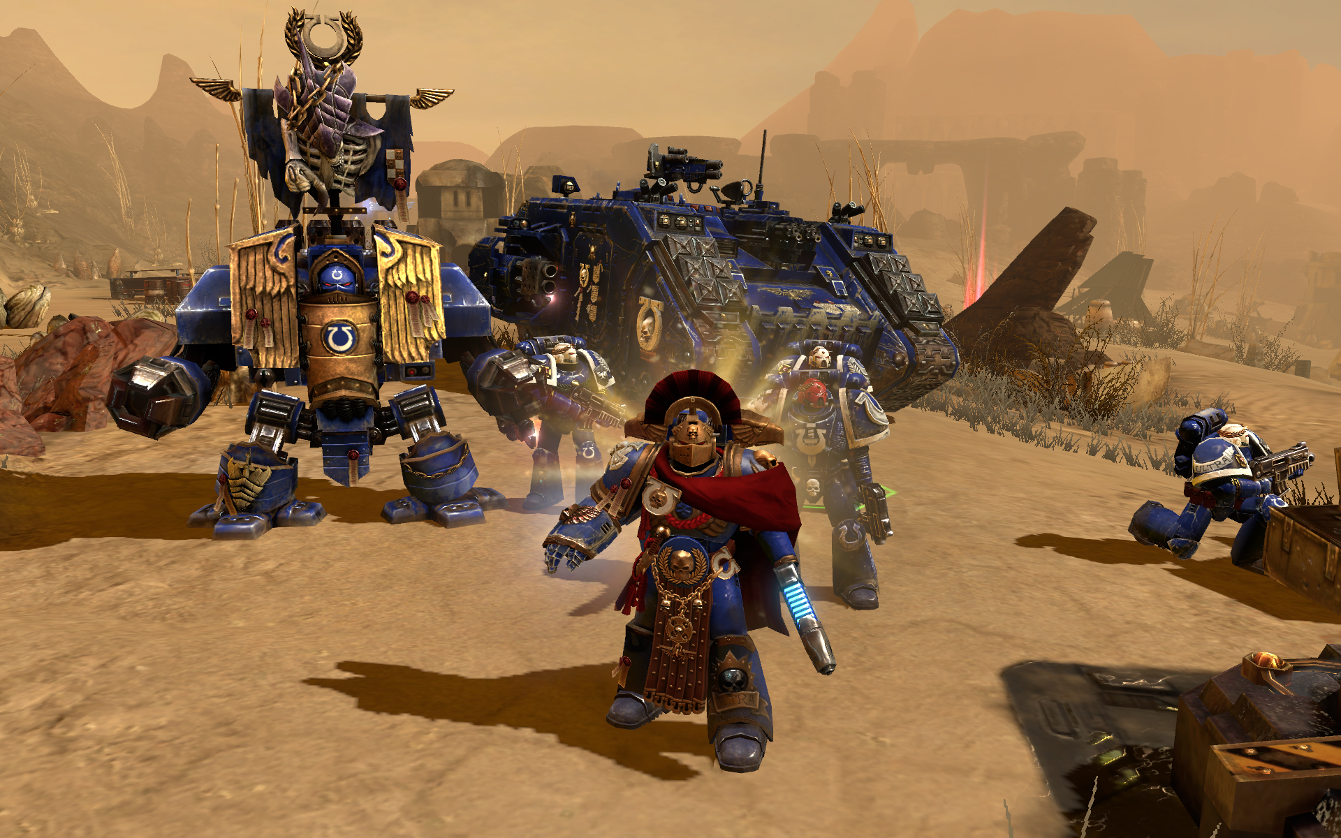Warhammer 40,000: Dawn of War II - Ultramarines Pack screenshot