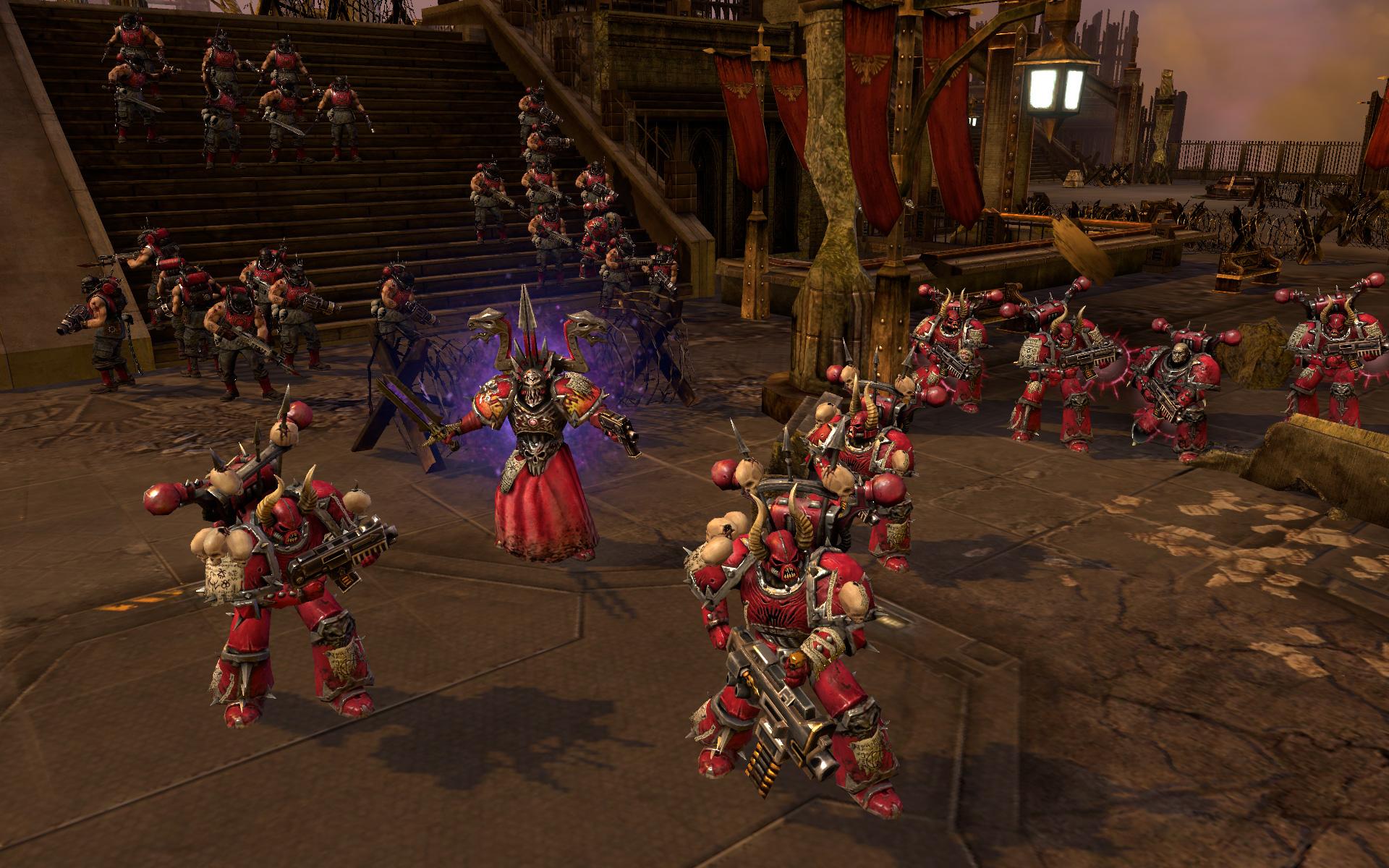 Warhammer 40,000: Dawn of War II: Retribution - Word Bearers Skin Pack screenshot