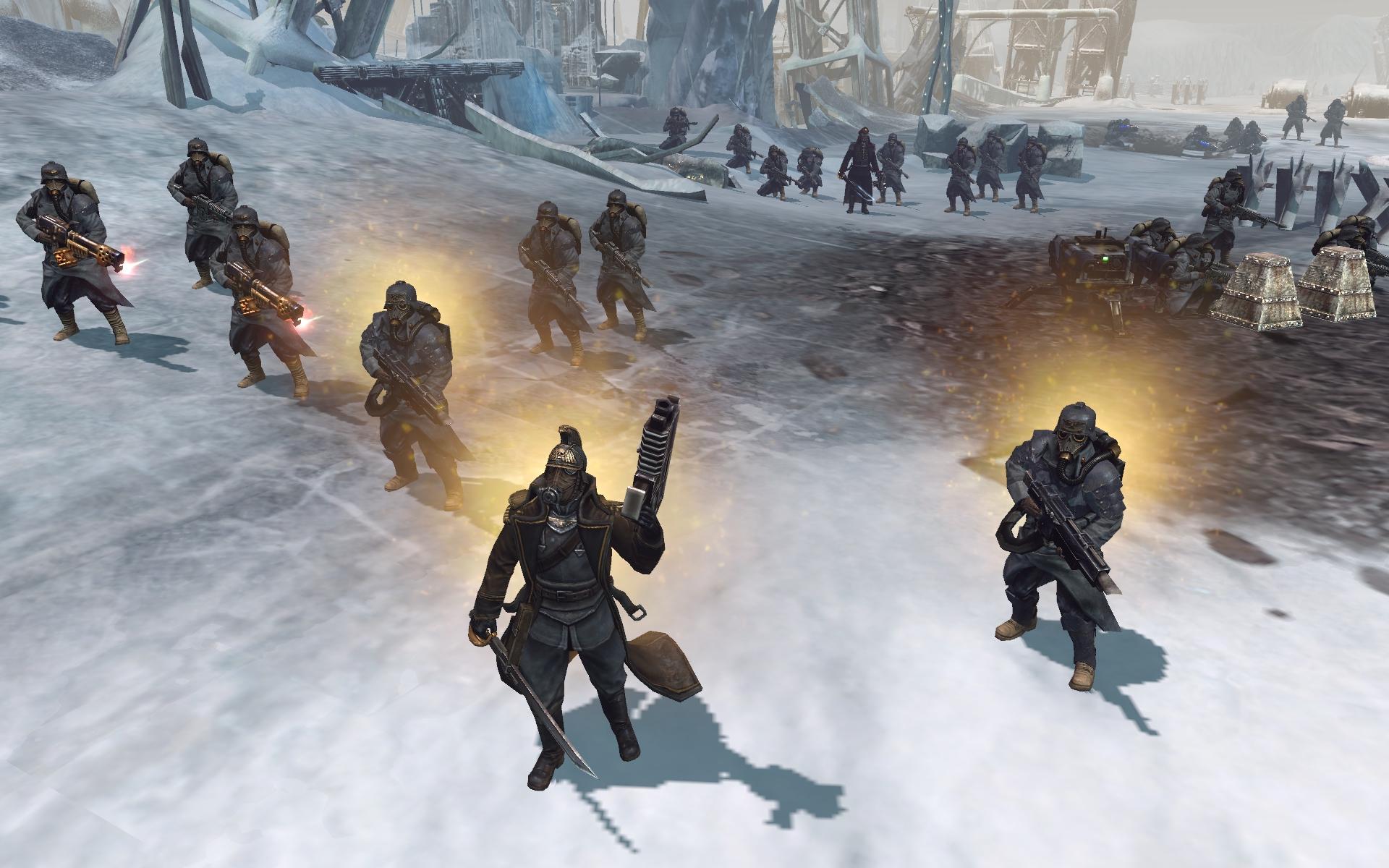 Warhammer 40,000: Dawn of War II - Retribution - Death Korps of Krieg Skin Pack screenshot