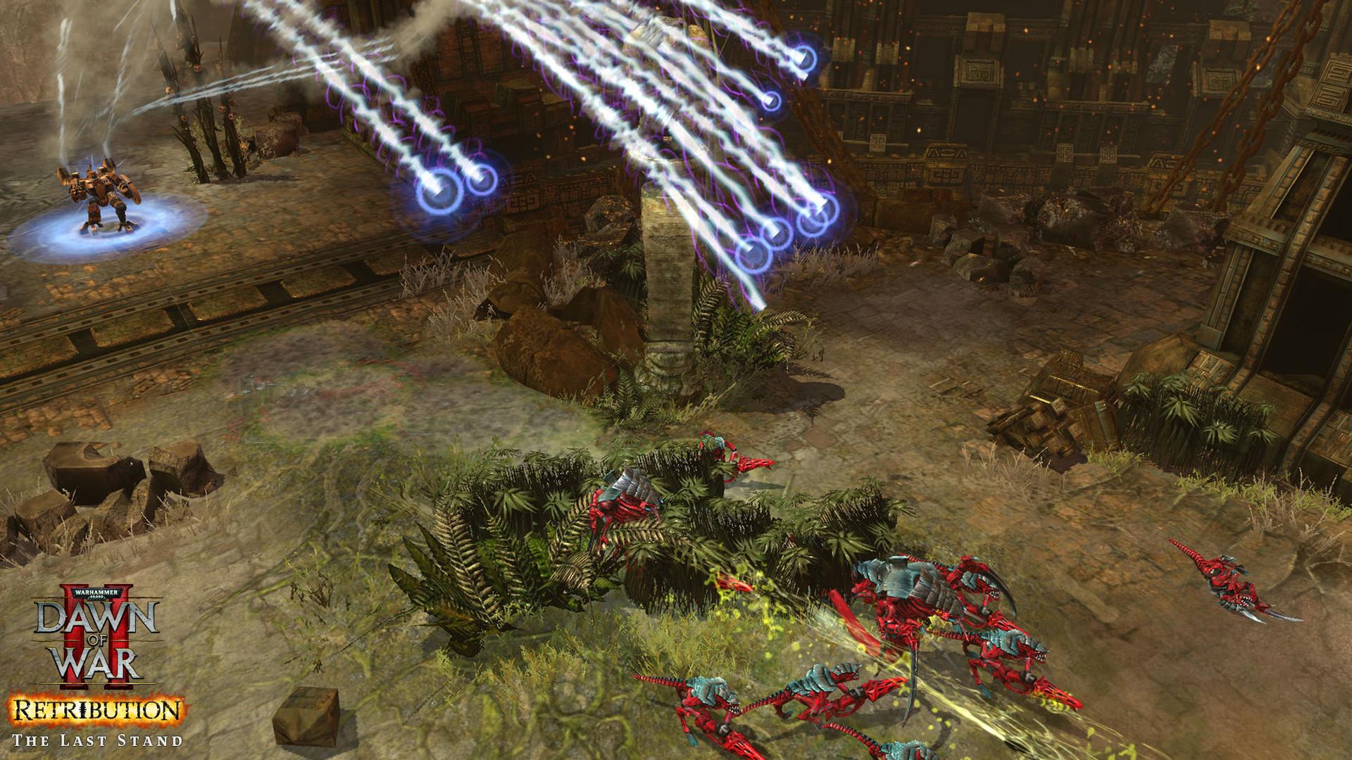 Warhammer 40,000: Dawn of War II - Retribution - The Last Stand Tau Commander screenshot
