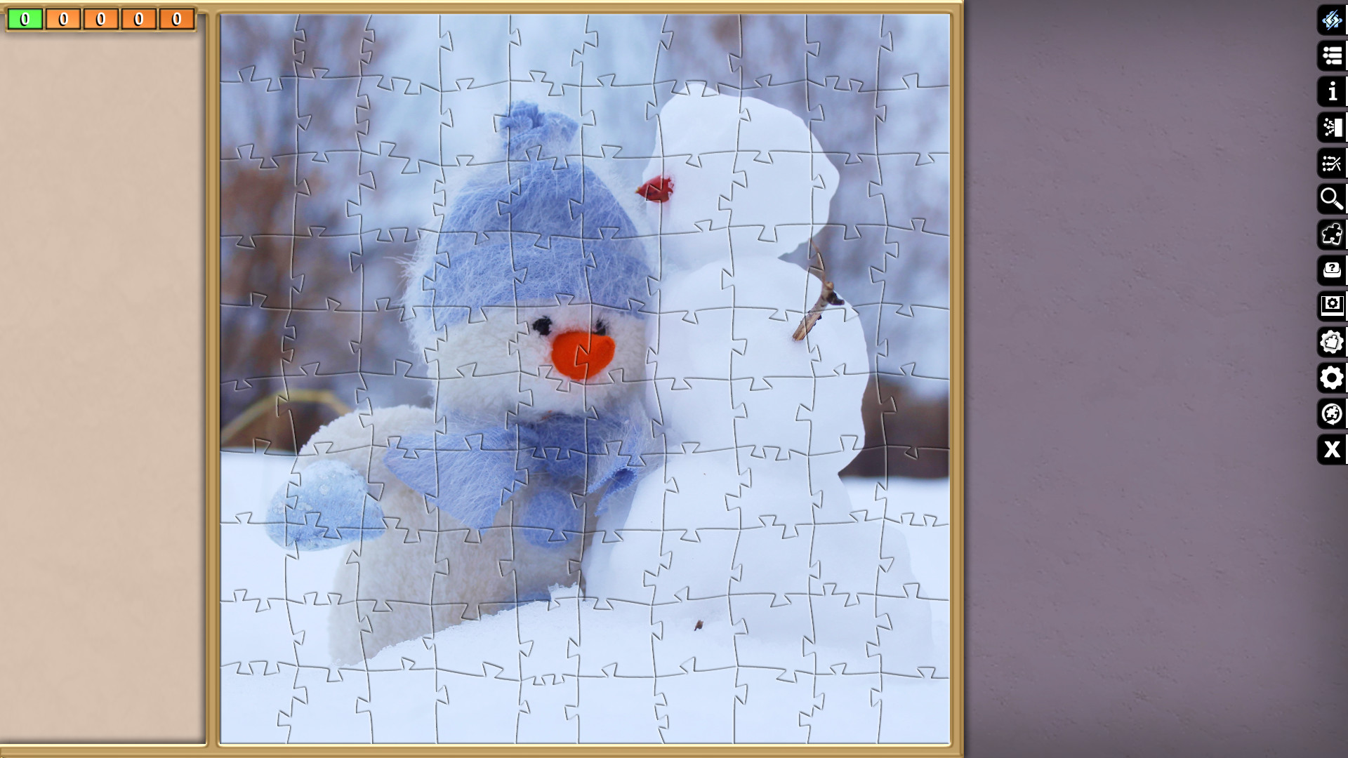 Jigsaw Puzzle Pack - Pixel Puzzles Ultimate: Winter screenshot