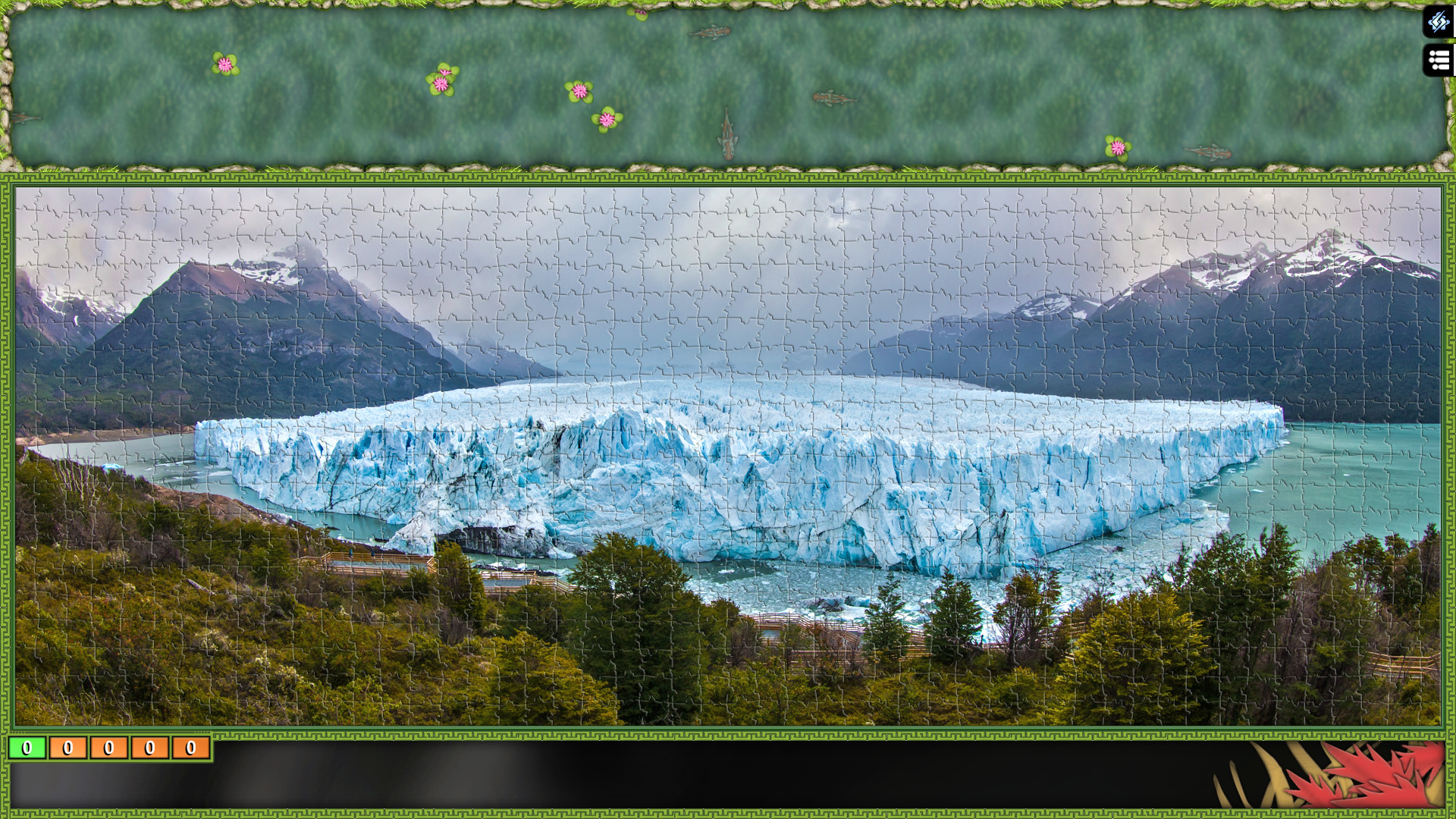 Jigsaw Puzzle Pack - Pixel Puzzles Ultimate: Glaciers screenshot