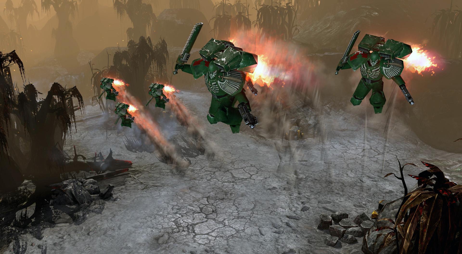 Warhammer 40,000: Dawn of War II: Retribution: Dark Angels Pack screenshot