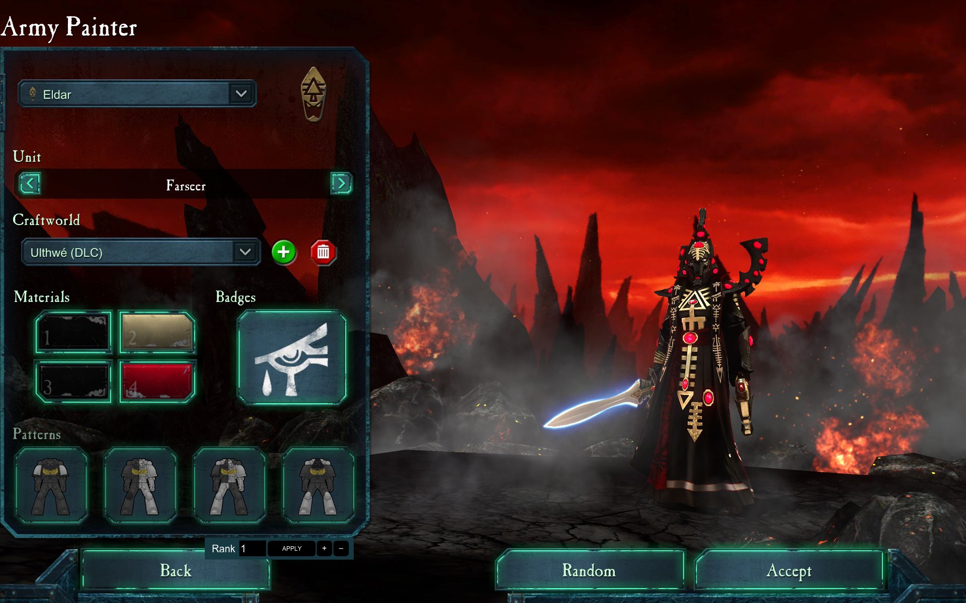 Warhammer 40,000: Dawn of War II: Retribution - Ulthwe Wargear DLC screenshot