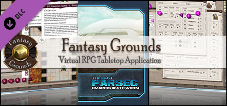 Fantasy Grounds - The Last Parsec: Omariss Death Worm (Savage Worlds)
