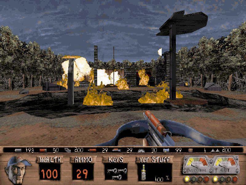 Redneck Rampage screenshot