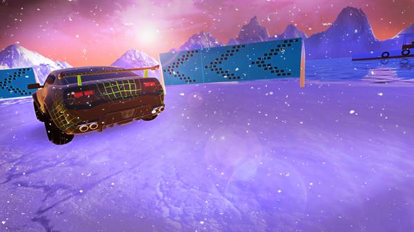 Frozen Drift Race-HI2U