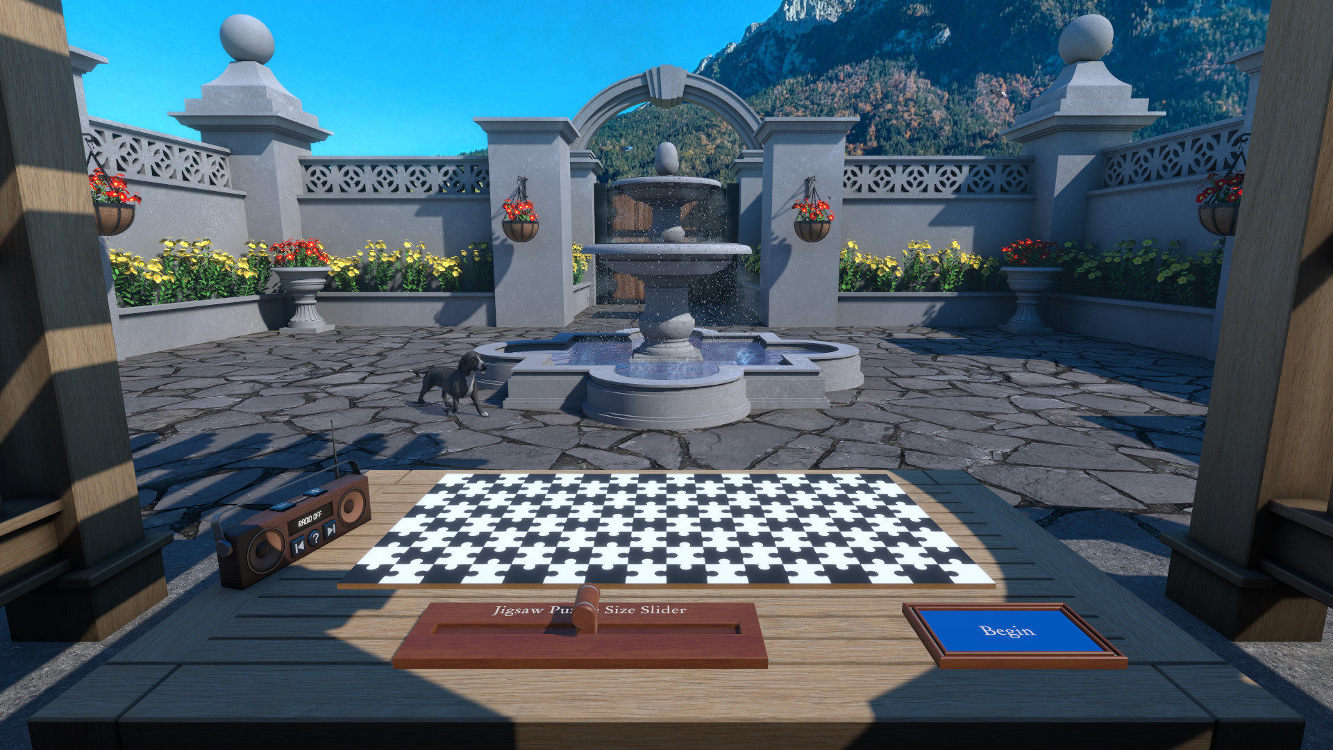 The Jigsaw Puzzle Garden screenshot
