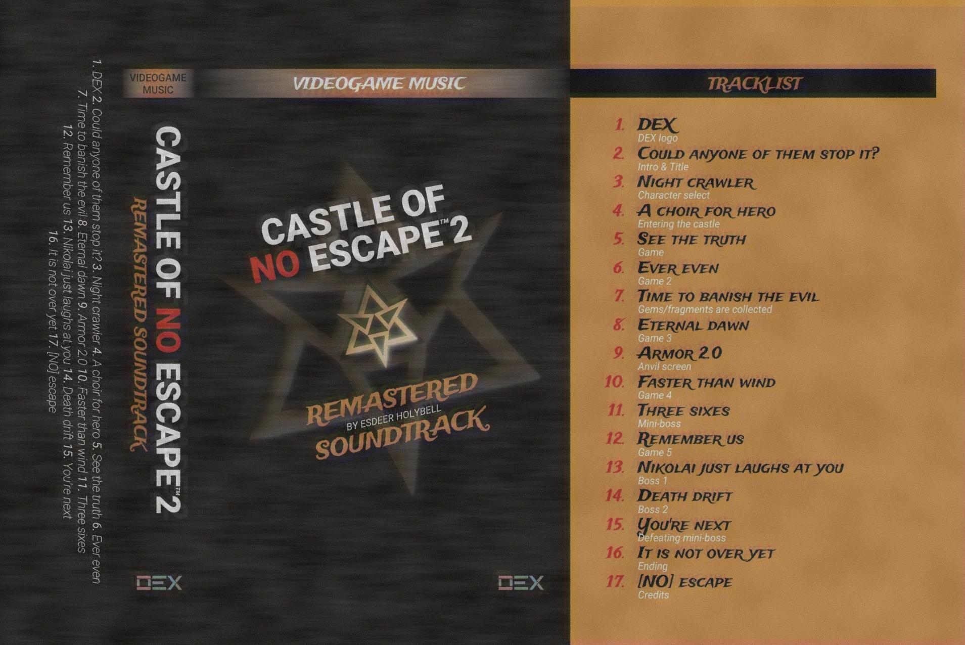 Castle of no Escape 2 OST screenshot