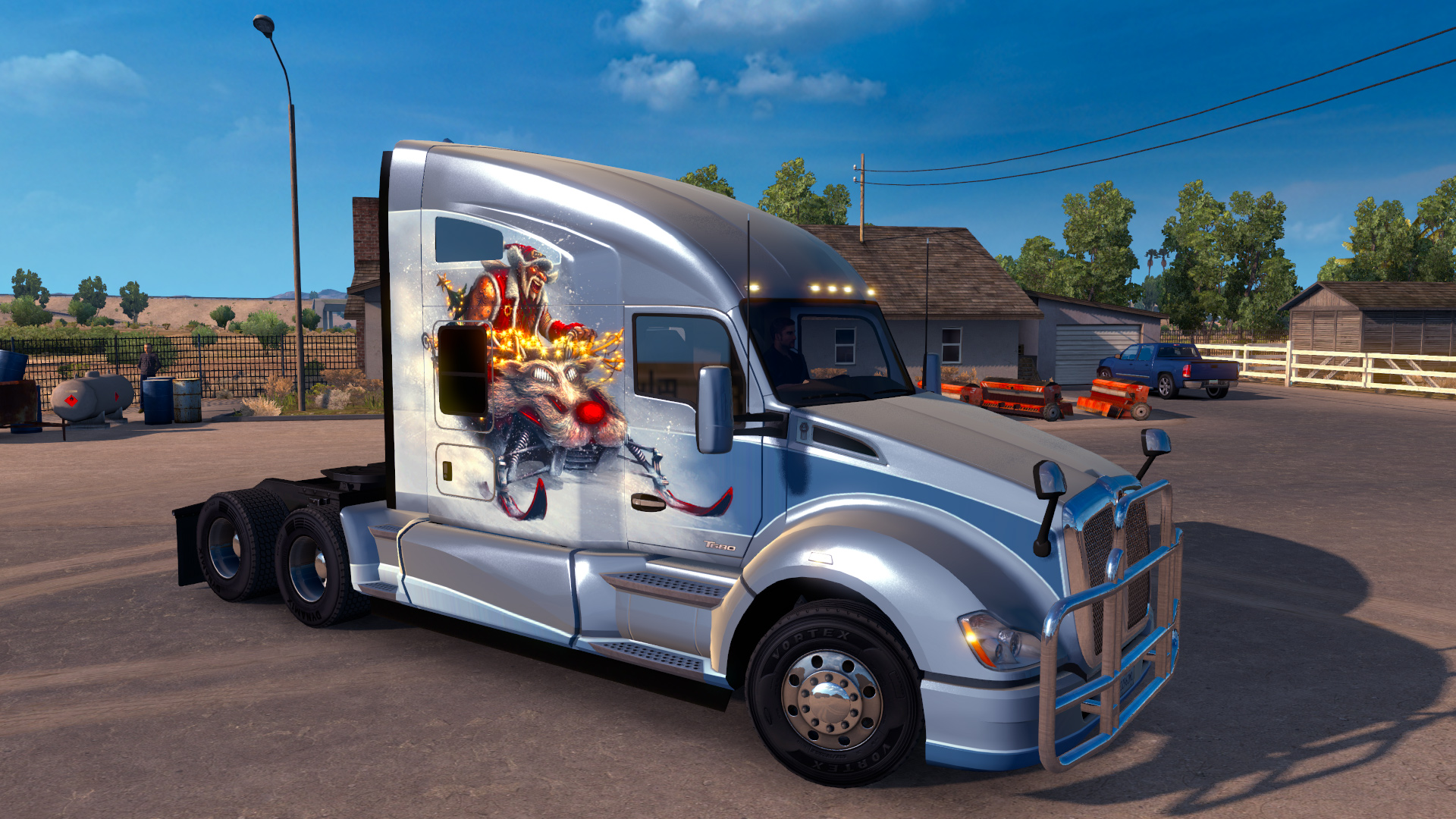 American Truck Simulator - Christmas Paint Jobs Pack screenshot
