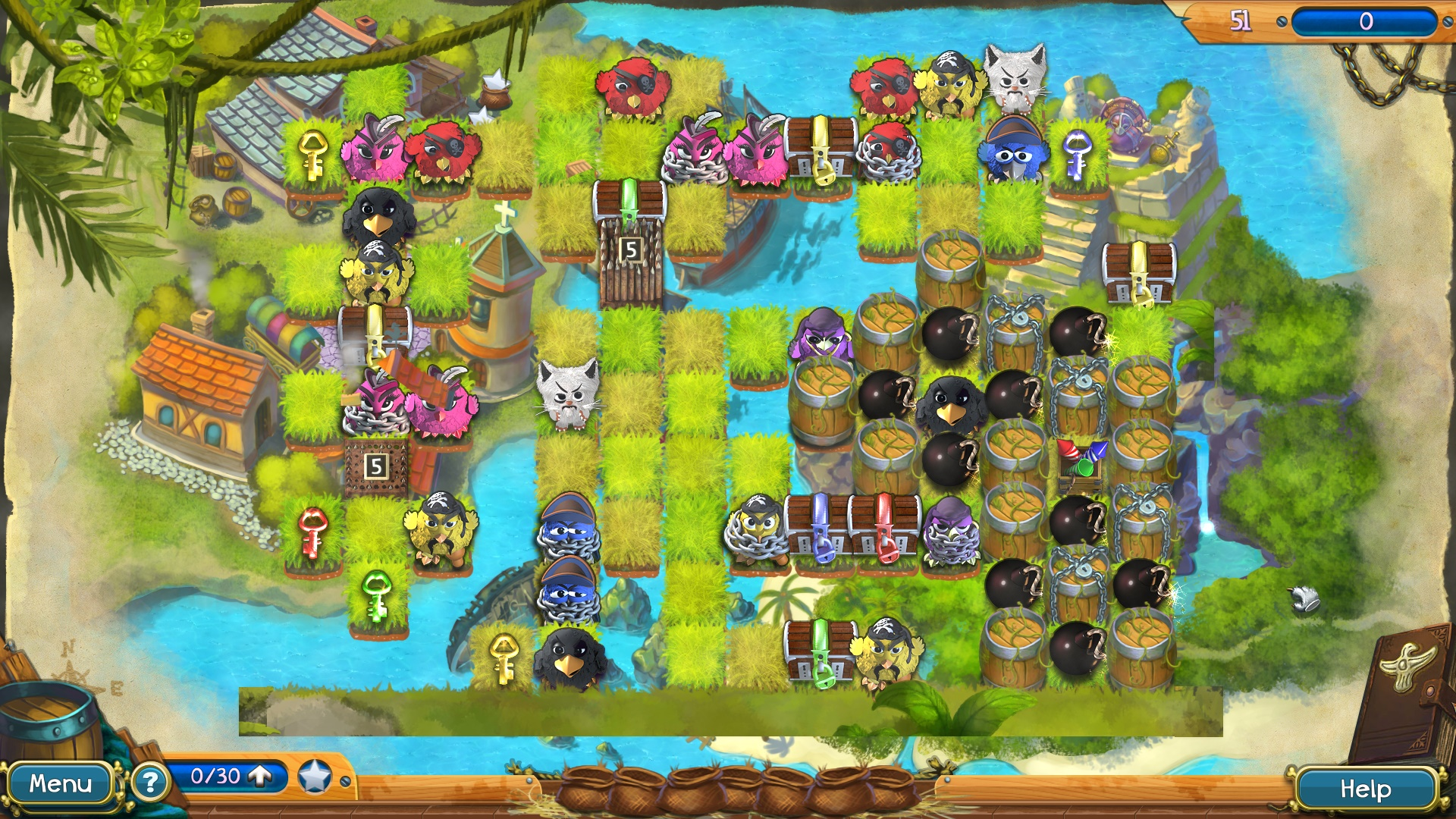 Claws & Feathers 2 screenshot