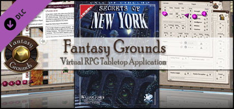 Fantasy Grounds - Secrets of New York (CoC)