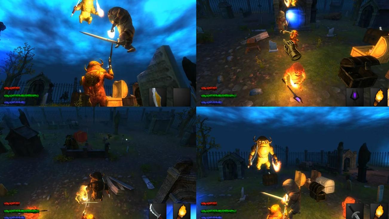 Heroes of Dark Dungeon screenshot