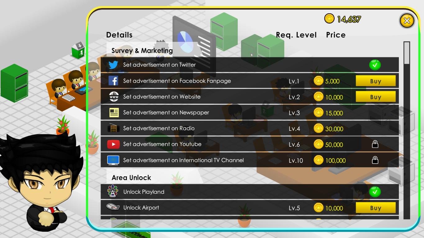 Multishop Tycoon Deluxe screenshot