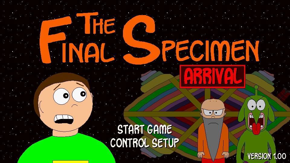 The Final Specimen: Arrival screenshot