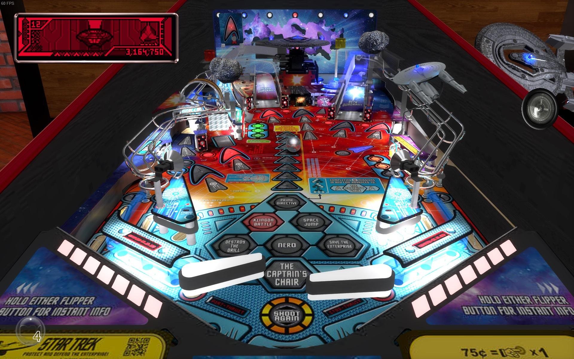 Stern Pinball Arcade: Star Trek screenshot