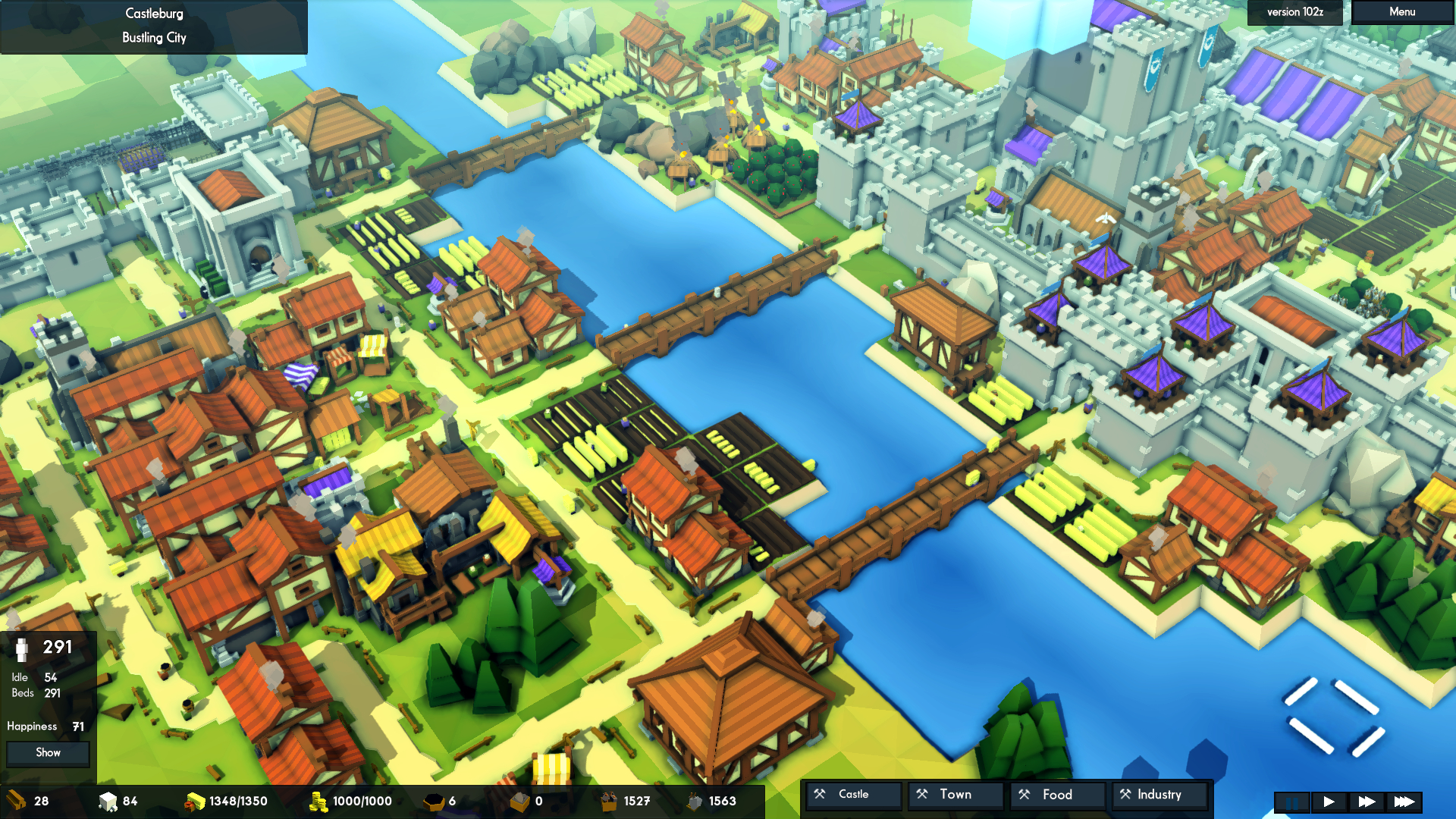 Kingdoms and Castles screenshot