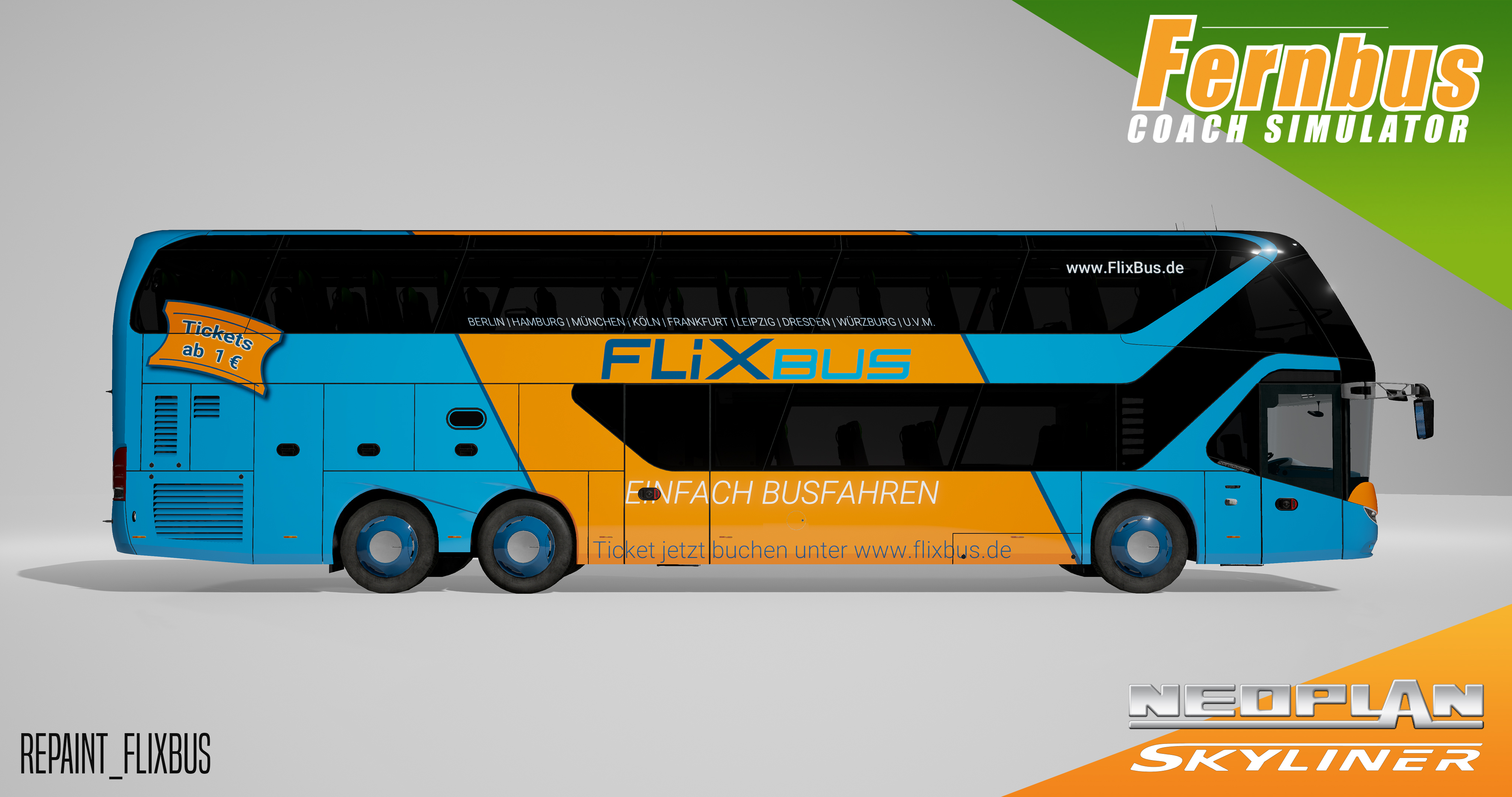 Fernbus Simulator - Neoplan Skyliner screenshot