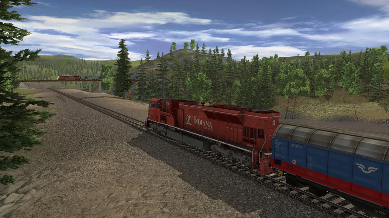 Trainz 2019 DLC: Indiana Railroad EMD SD9043MAC screenshot