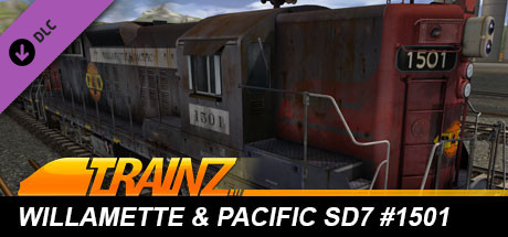 Trainz 2019 DLC: Willamette & Pacific SD7 #1501