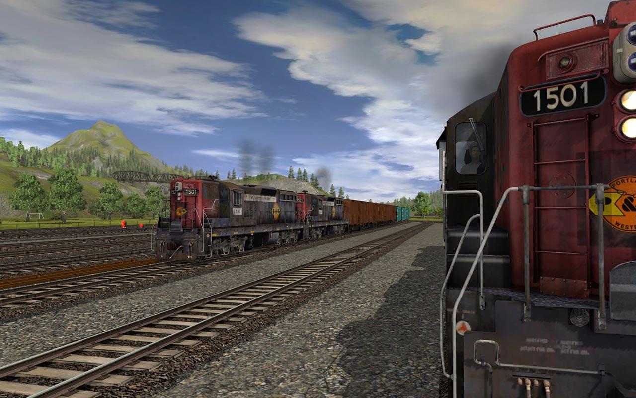 Trainz 2019 DLC: Willamette & Pacific SD7 #1501 screenshot