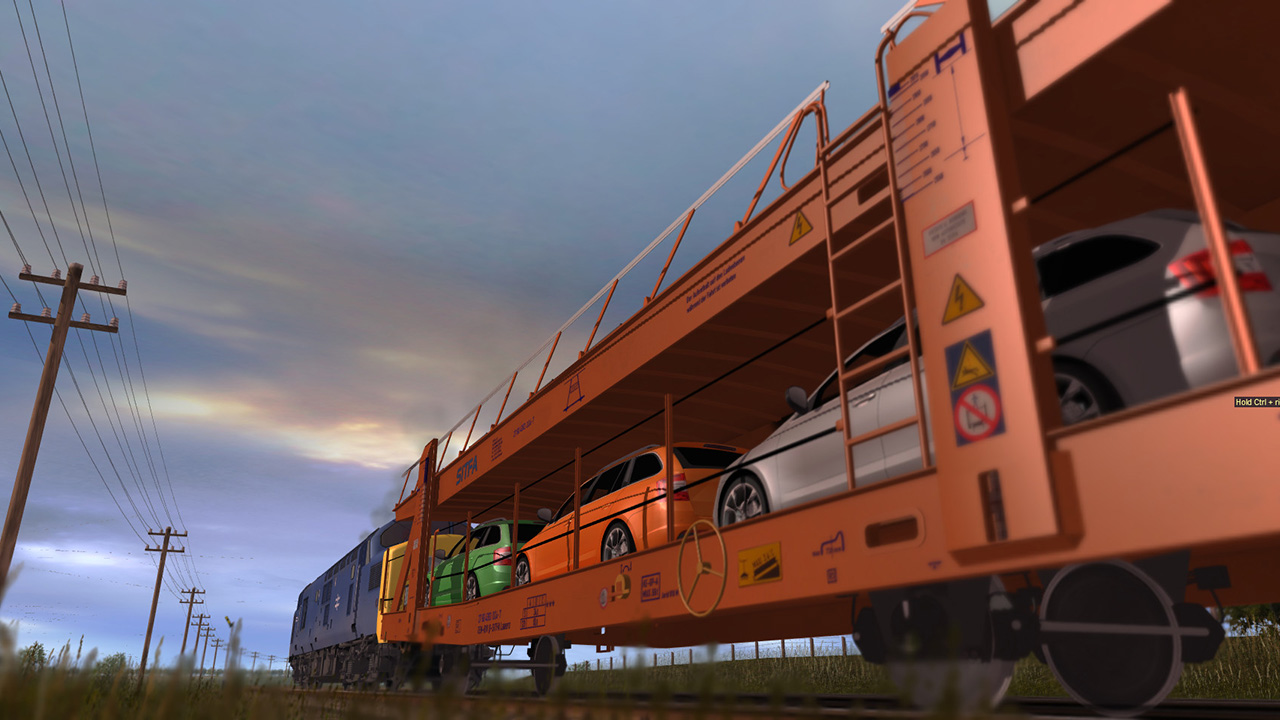Trainz 2019 DLC: Laaers Car Transporter screenshot
