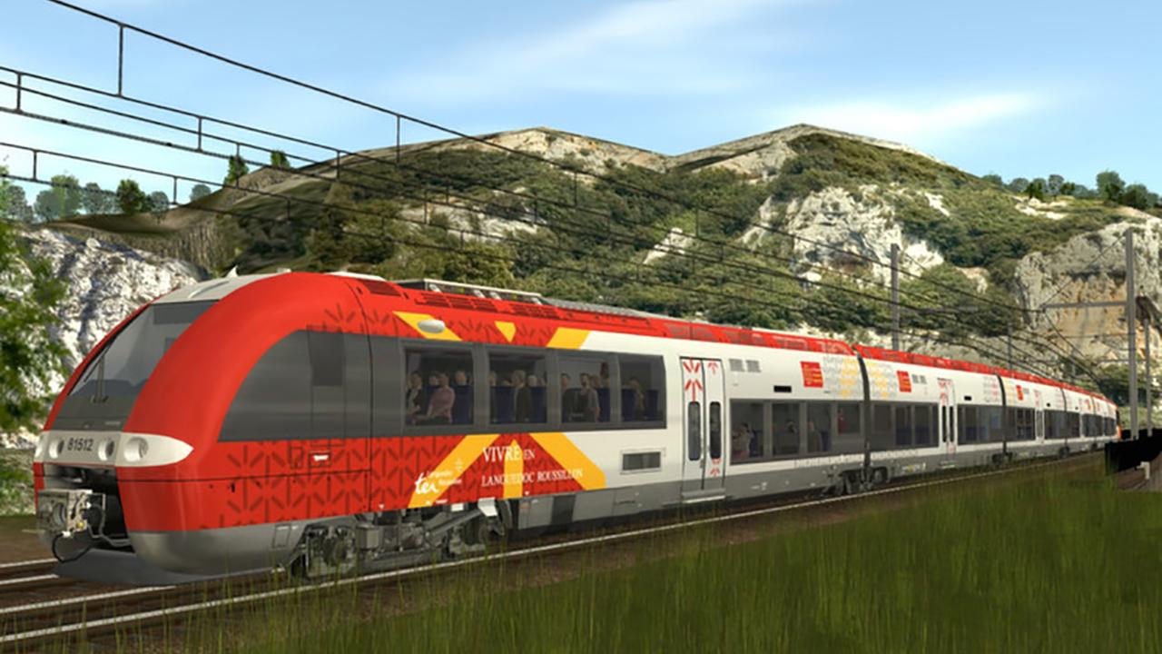 Trainz 2019 DLC: SNCF - AGC Languedoc screenshot