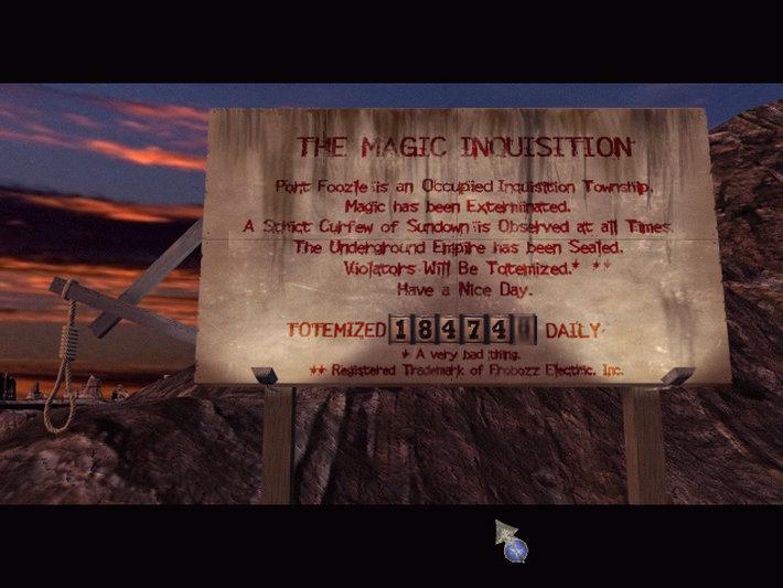 Zork: Grand Inquisitor screenshot