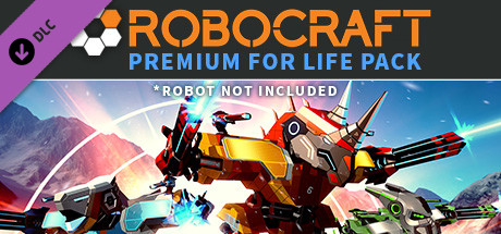 Allgamedeals.com - Robocraft - Premium for Life Pack - STEAM