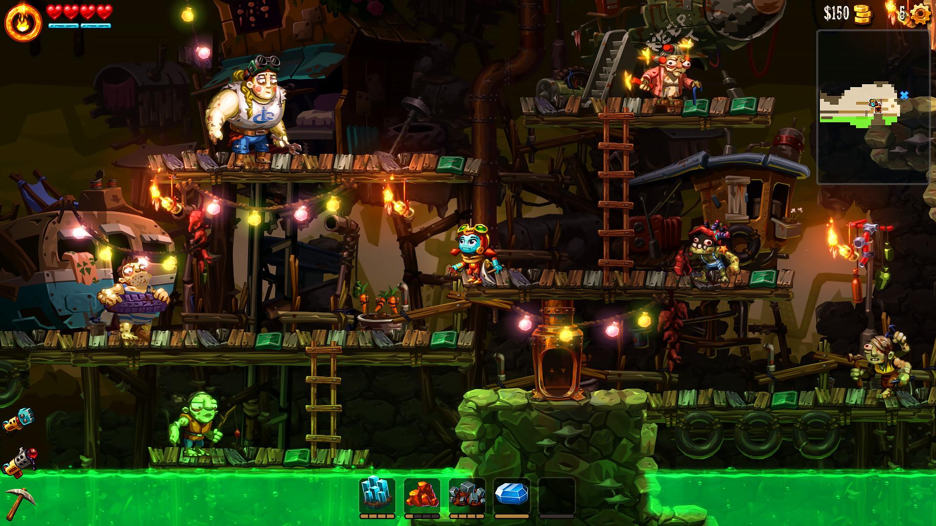 SteamWorld Dig 2 [GOG] [2017|Rus|Eng]