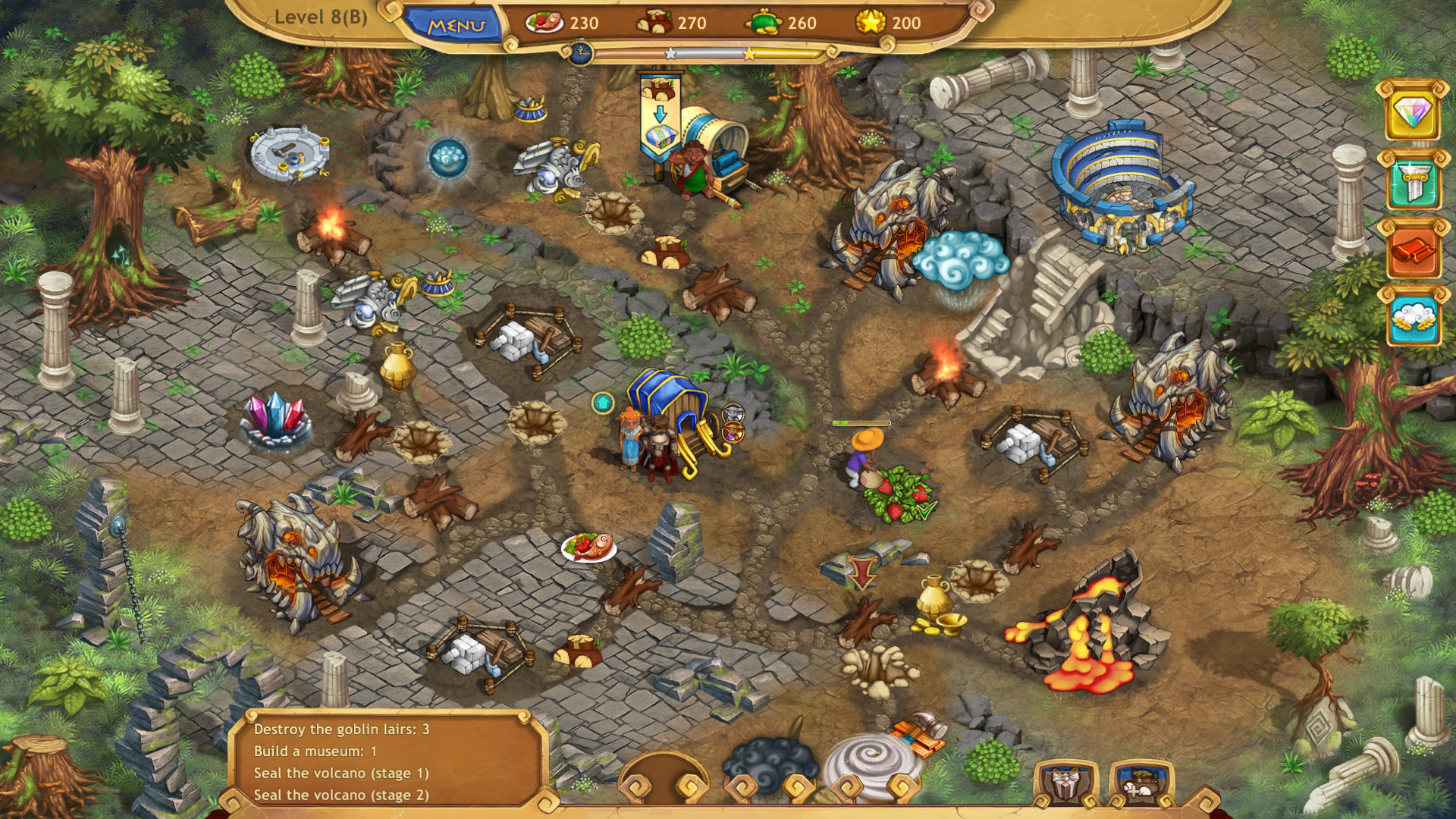 Weather Lord: Royal Holidays Collector's Edition screenshot