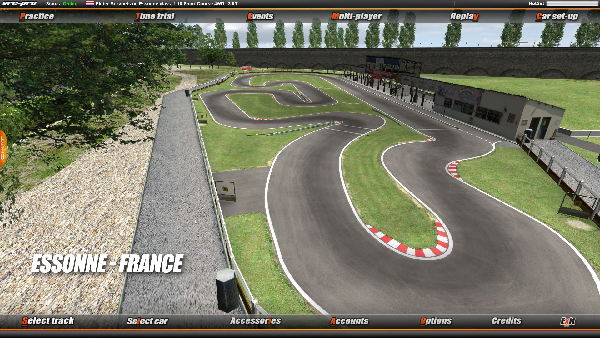 VRC PRO European On-road tracks Deluxe screenshot