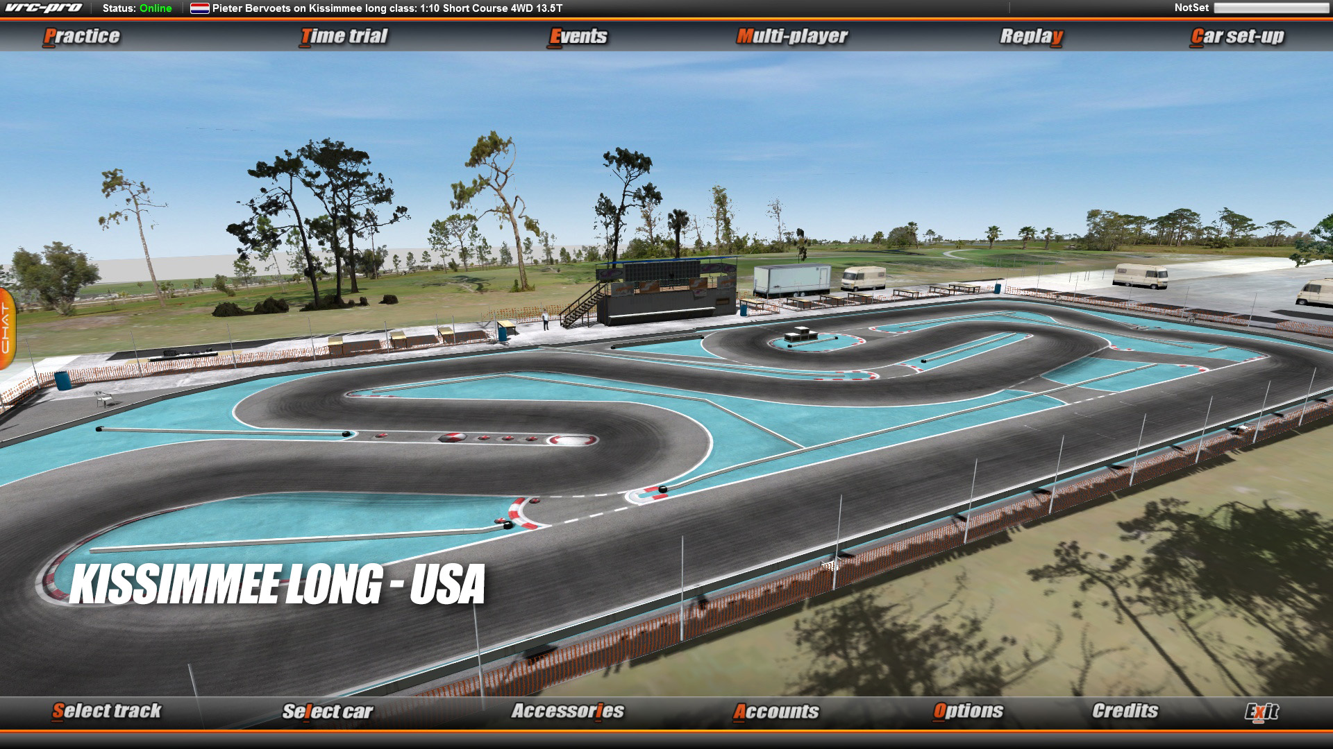 VRC PRO Americas On-road tracks Deluxe screenshot