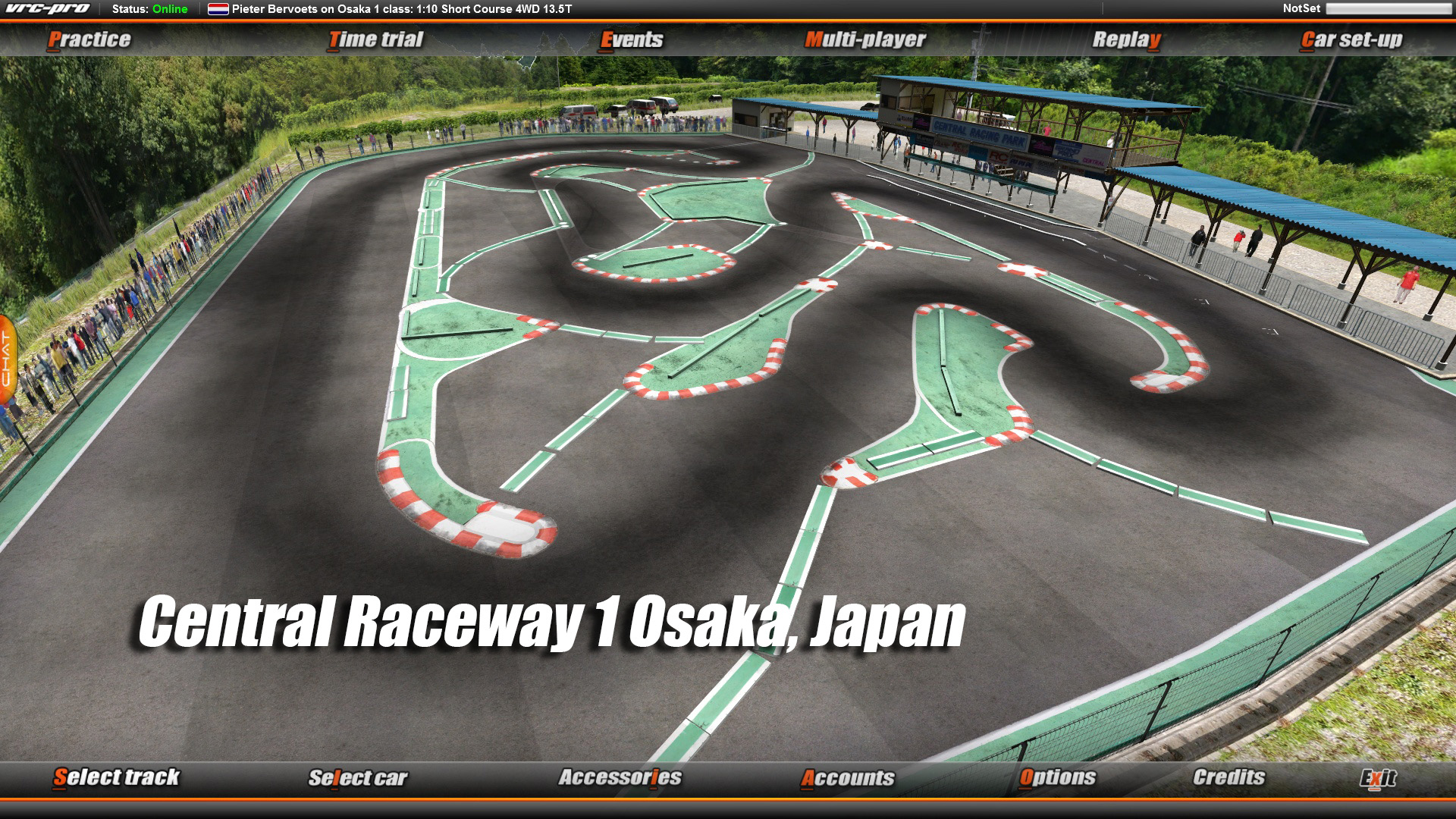 VRC PRO Asia On-road tracks Deluxe 2 screenshot