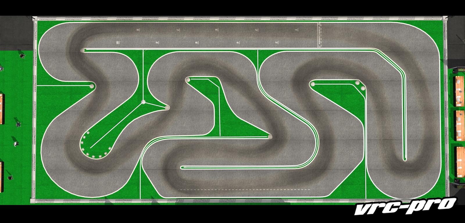 VRC PRO Deluxe Carpet tracks screenshot