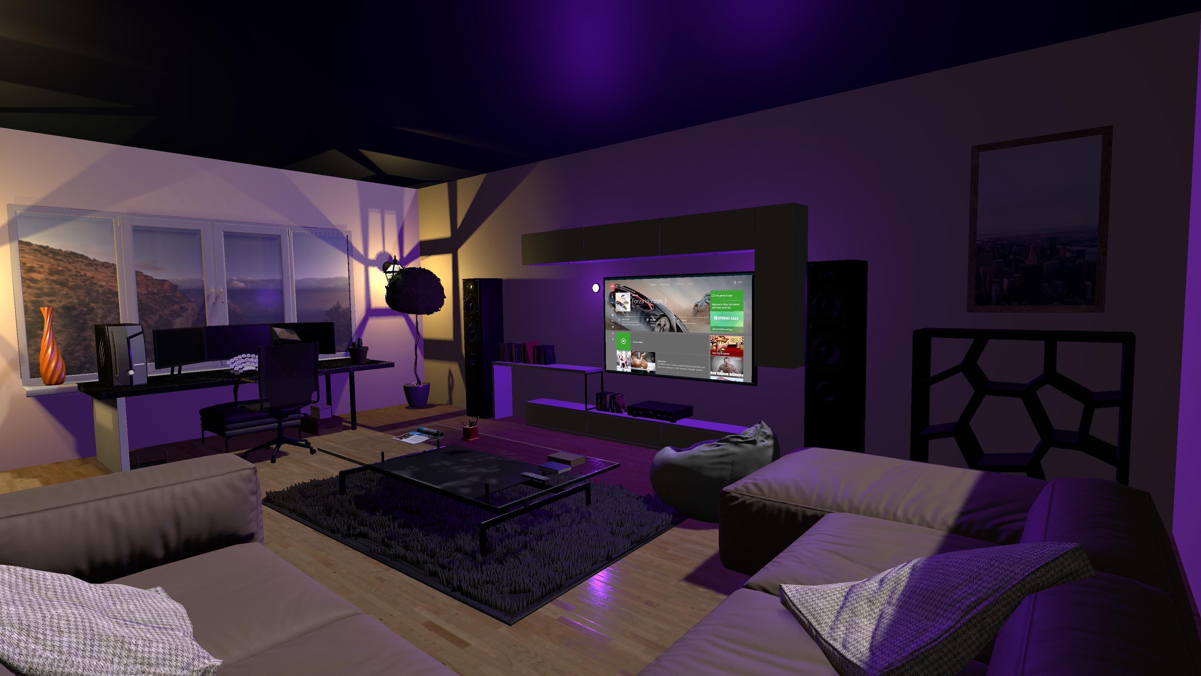VR Home screenshot
