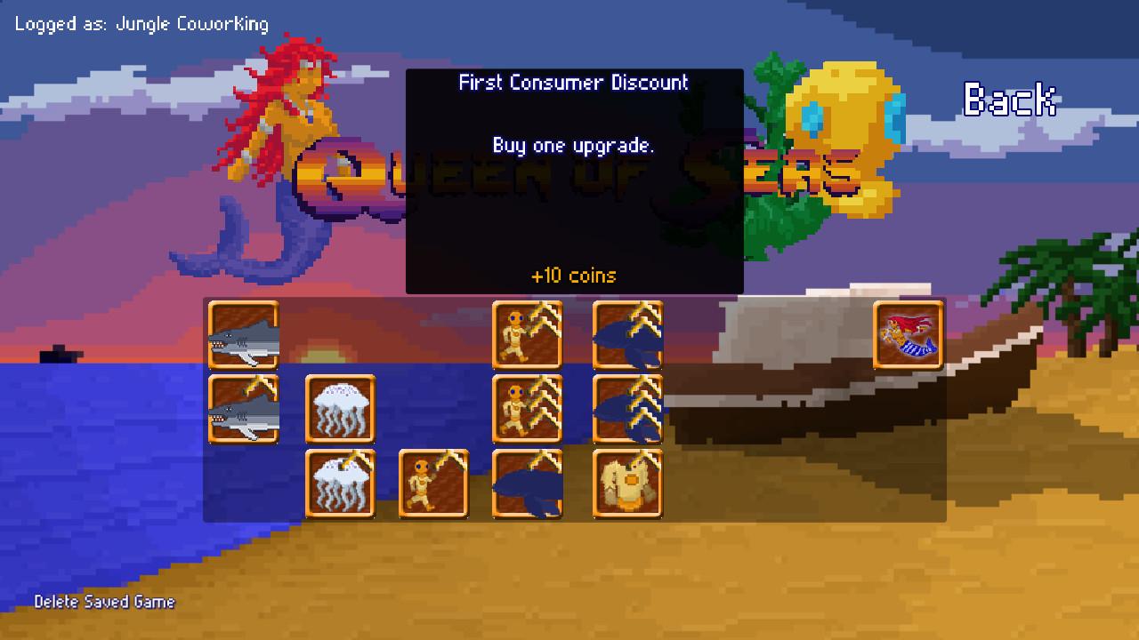 Queen of Seas screenshot