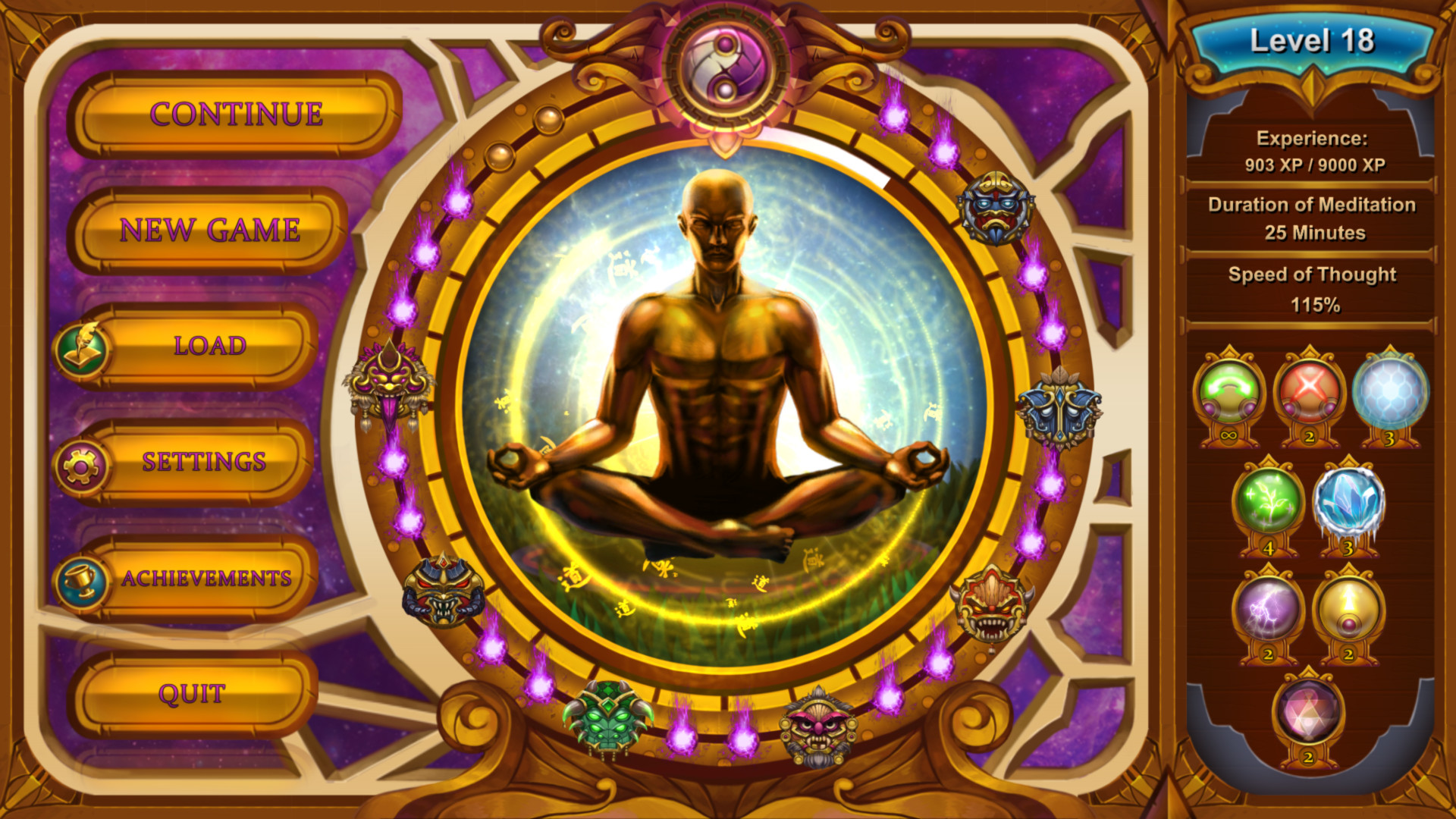 Five Elements screenshot