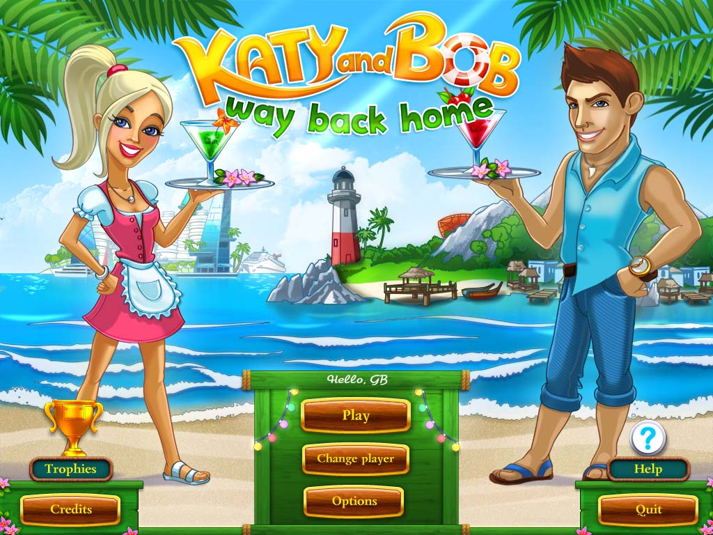 Katy and Bob Way Back Home screenshot