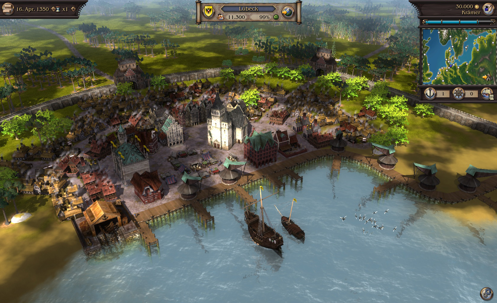 Patrician IV - Steam Special Edition screenshot