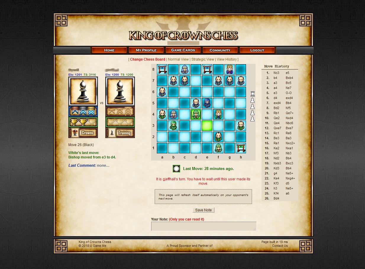 Chess: King of Crowns Chess Online screenshot