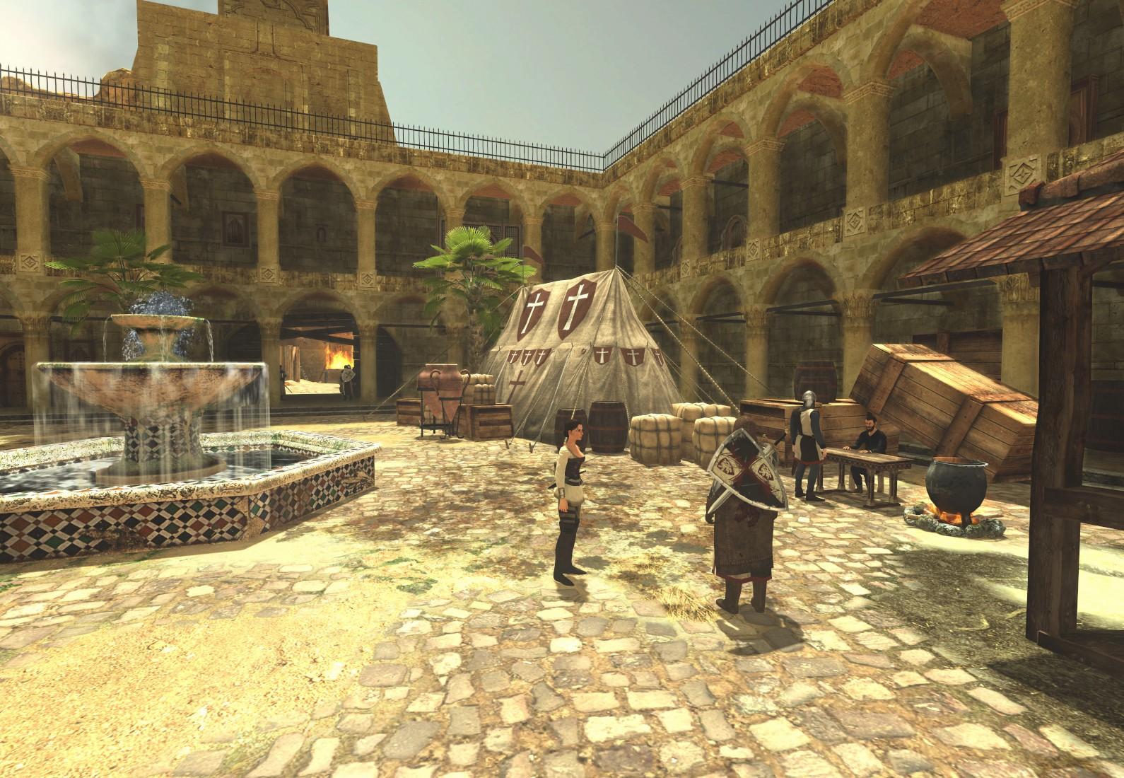 The First Templar - Steam Special Edition screenshot