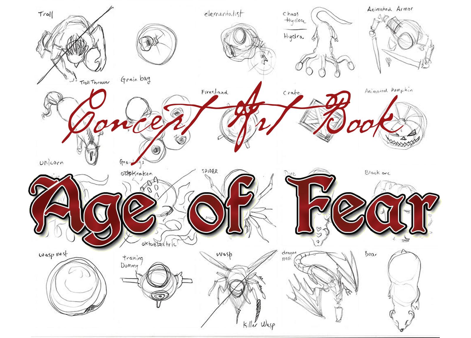 Age of Fear: Concept Art Book screenshot
