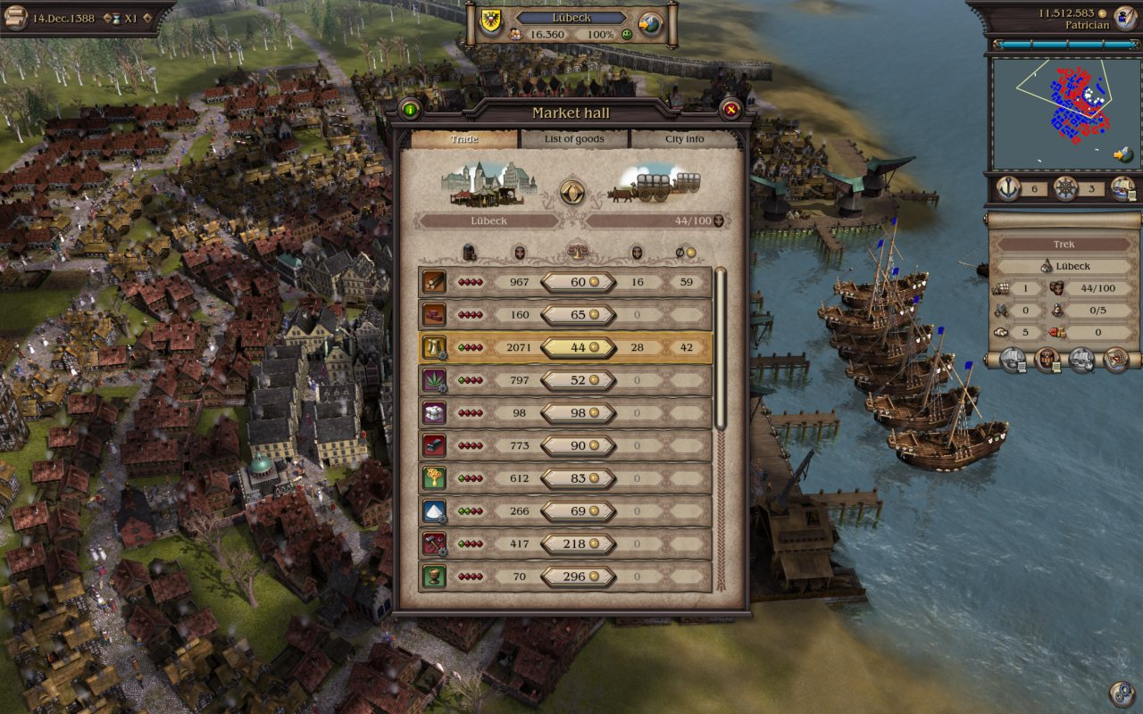 Patrician IV: Rise of a Dynasty screenshot