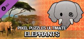 Pixel Puzzles Ultimate - Puzzle Pack: Elephants