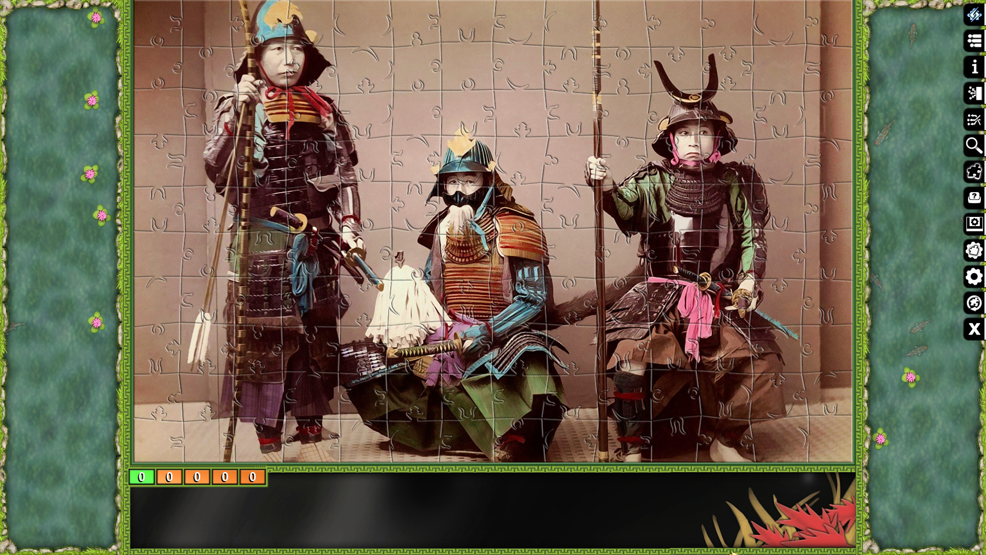 Jigsaw Puzzle Pack - Pixel Puzzles Ultimate: Samurai screenshot